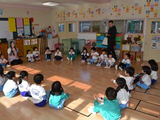 いちごぐみ 英語で遊ぼう: ふくだまち幼稚園のブログ